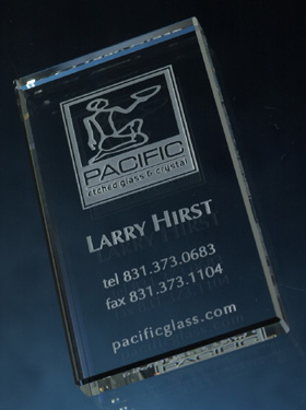 Paperweights business card paperweight pacific etched glass business card paperweight colourmoves