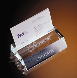 Desk accessories business card holders pacific etched glass slotted business card holder colourmoves